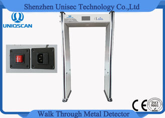 18/24 Multi Detecting Zones Walkthrough Metal Detector , High Level Archway Metal Detector Scanner